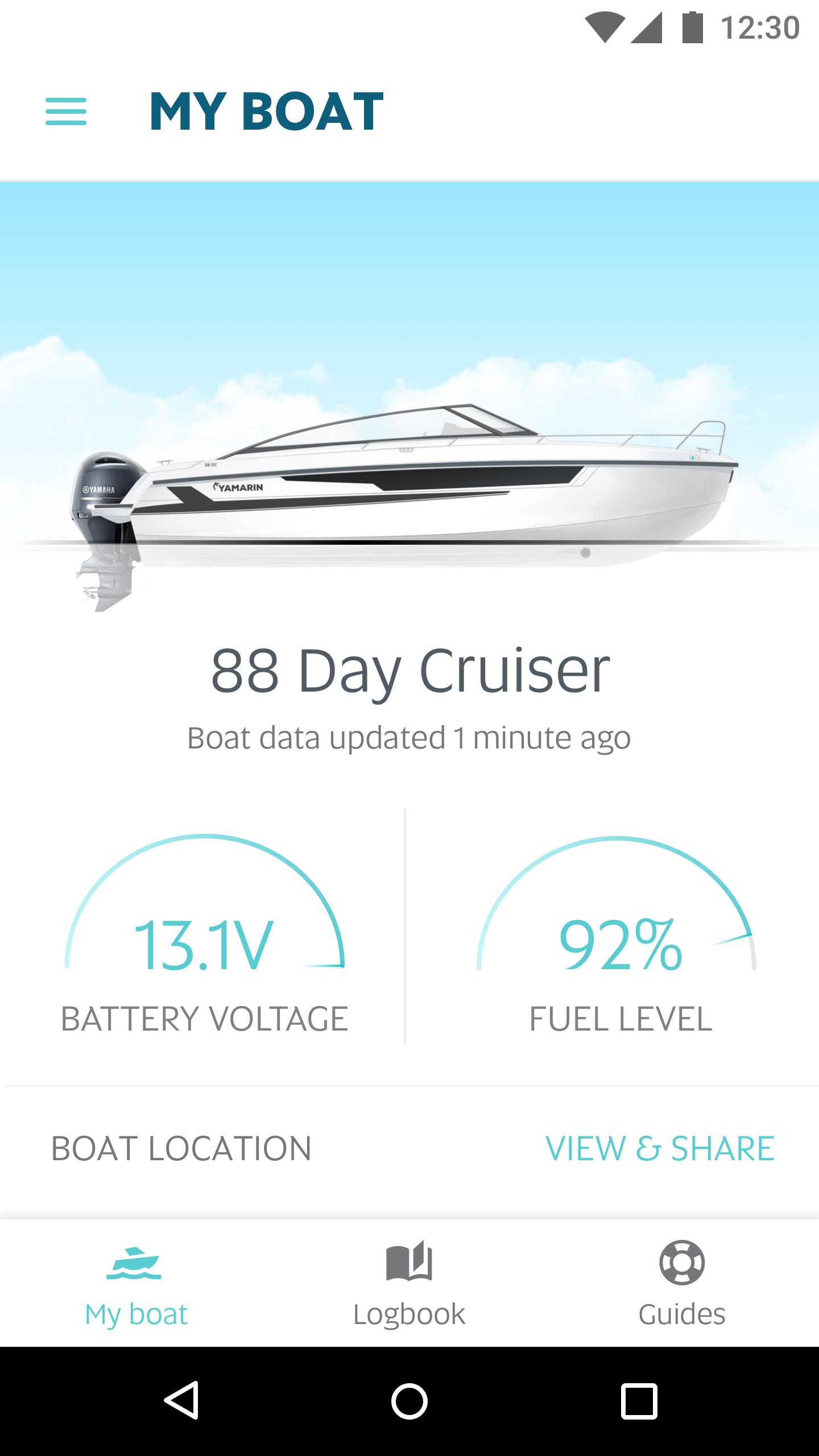 Yamarin App launch
