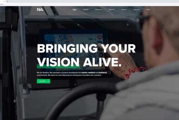 Nextfour new website
